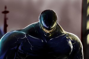 2018 Venom Movie Art Wallpaper