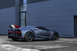 2019 Bugatti Chiron Sport 110 Ans Rear Wallpaper