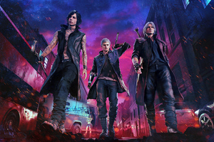 2019 Devil May Cry 5 1080P Wallpaper