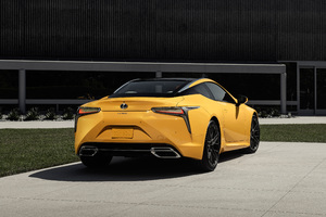 2019 Lexus LC 500 Inspiration Concept Rear Wallpaper