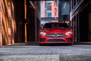 2019 Mercedes Benz CLS 450 AMG Line 4k Wallpaper