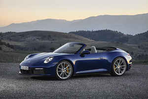 2019 Porsche 911 Carrera 4S Cabriolet Wallpaper