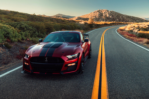 2020 Ford Mustang Shelby GT500 4k