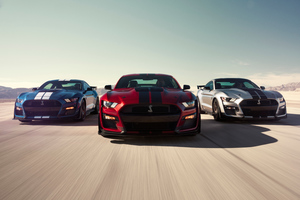 2020 Ford Mustang Shelby GT500 8k Wallpaper