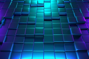 3d Cube Background 4k