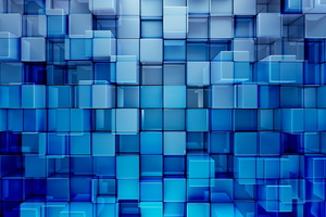 3D Cubes Abstract Wallpaper