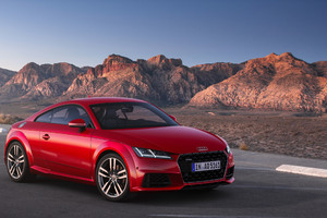 4k Audi TT Coupe 45 TFSI Quattro Wallpaper
