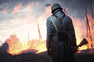 4k Battlefield 1 Soldier Wallpaper