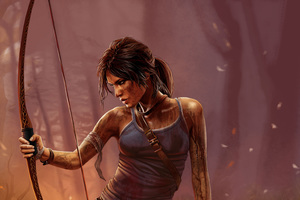 4k Lara Croft Tomb Raider Wallpaper