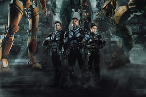 4k Pacific Rim Uprising 2018 Movie Wallpaper