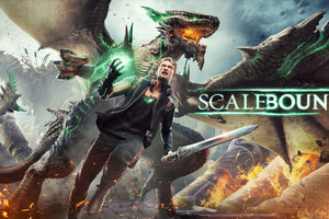 4K Scalebound Wallpaper