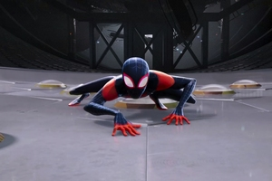 4k SpiderMan Into The Spider Verse Movie