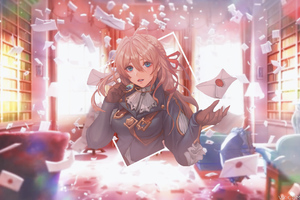 4k Violet Evergarden Anime Wallpaper