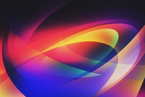 5k Abstract Colors Vector Wallpaper