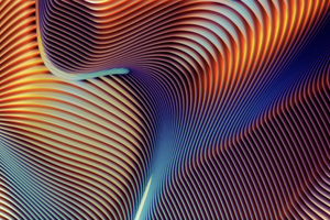 5k Abstract Shapes Retina Display Wallpaper