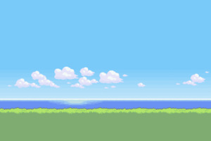 8 Bit Nature Wallpaper