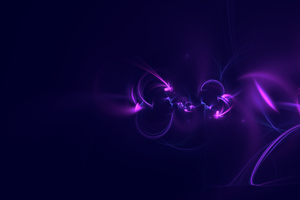 Abstract Digital Art Purple Background 5k