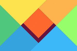 Abstract Material Design 4k