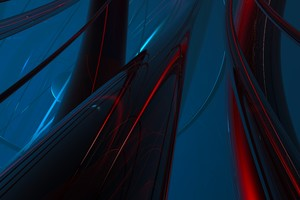 Abstract Motion Geometry 8k Wallpaper
