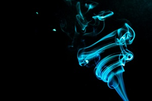 Abstract Smoke Flame Wallpaper