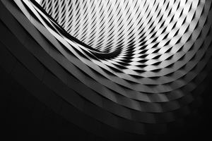 Abstract Spiral Pattern 4k Wallpaper