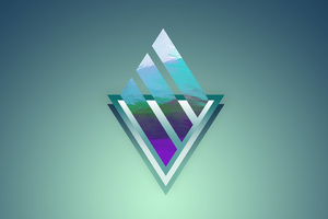 Abstract Triangle Background Wallpaper