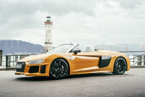Abt Audi R8 Spyder 2017 Wallpaper