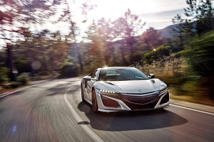 Acura NSX 2017 HD Wallpaper