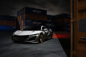 Acura NSX 8k Wallpaper