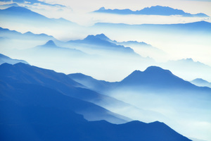 Aerial View Of Mountain High Angle Shot Wallpaper