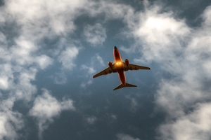 Airplane Sky Cloud Flight 5k