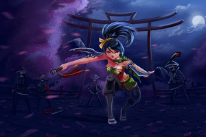 Akali League Of Legends Game