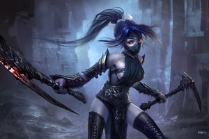 Akali League Of Legends