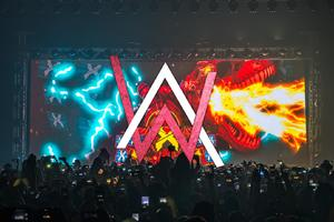 Alan Walker Concert Logo Wallpaper