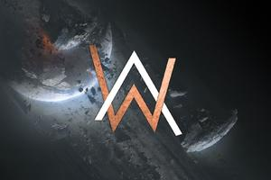 Alan Walker Creative Logo Wallpaper