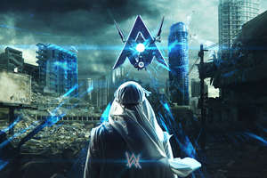 Alan Walker Darkside 4k Wallpaper