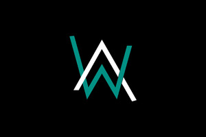 Alan Walker Logo 4k Wallpaper