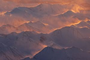 Alaska Mountains Range Morning Wallpaper