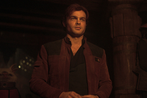 Alden Ehrenreich As Han Solo In Solo A Star Wars Story Movie
