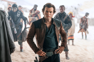 Alden Ehrenreich As Han Solo In Solo A Star Wars Story
