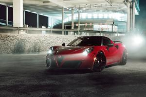 Alfa Romeo 4C By Pogea Racing Wallpaper