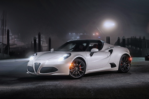 Alfa Romeo 4c Spider Wallpaper