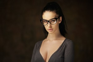Alla Berger With Glasses