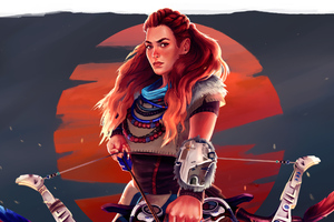 Aloy Concept Art Wallpaper