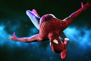 Amazing Spiderman Digital Art Wallpaper
