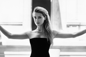 Amber Heard Marie Claire 4k Wallpaper