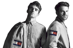 Andrew Taggart And Alex Pall In Tommy Hilfiger Wallpaper