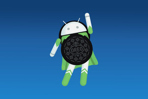 Android Oreo Logo 4k Wallpaper
