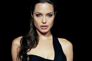 Angelina Jolie 4k New Wallpaper