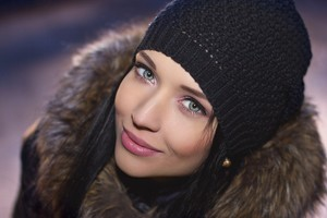 Angelina Petrova Smiling Wallpaper
